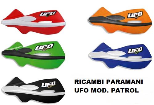UFO PARAMANI CROSS/ENDURO PATROL RICAMBIO