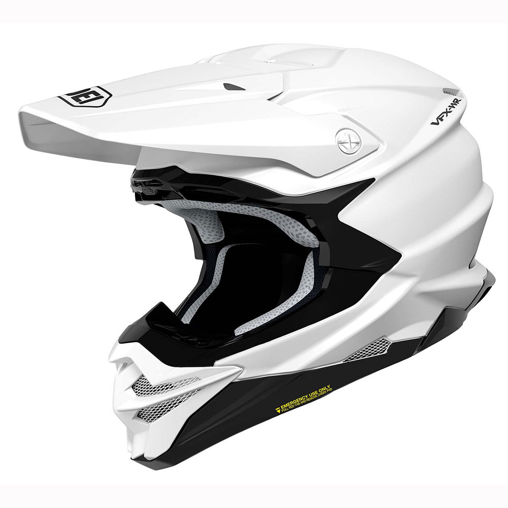 CASCO DA CROSS SHOEI VFX-WR WHITE