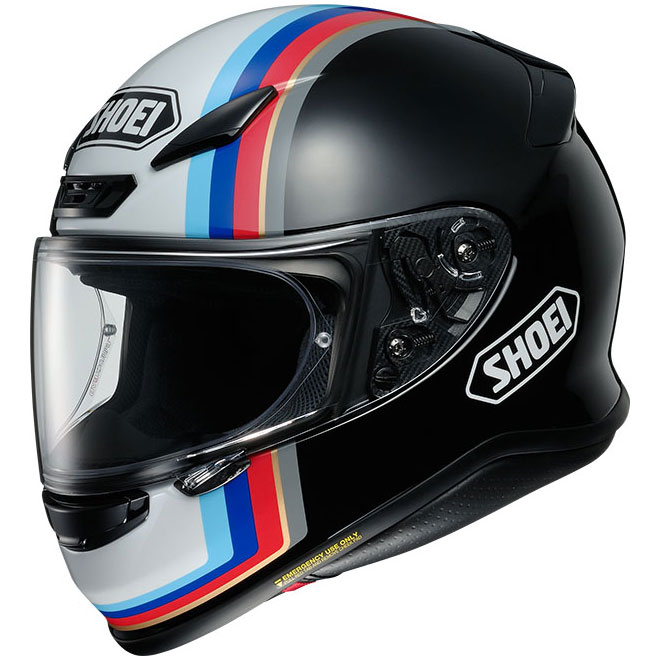SHOEI NXR CASCO INTEGRALE RECOUNTER TC10 NERO LUCIDO
