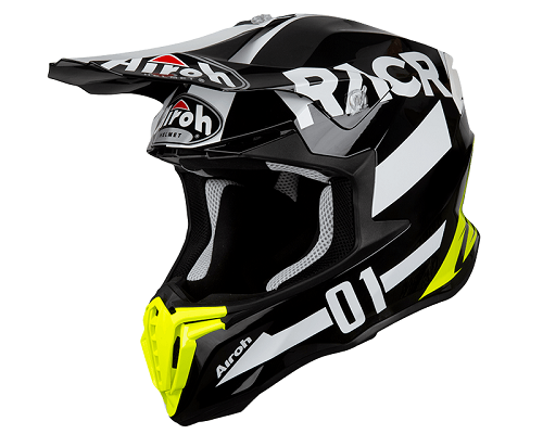 AIROH CASCO CROSS TWIST RACR