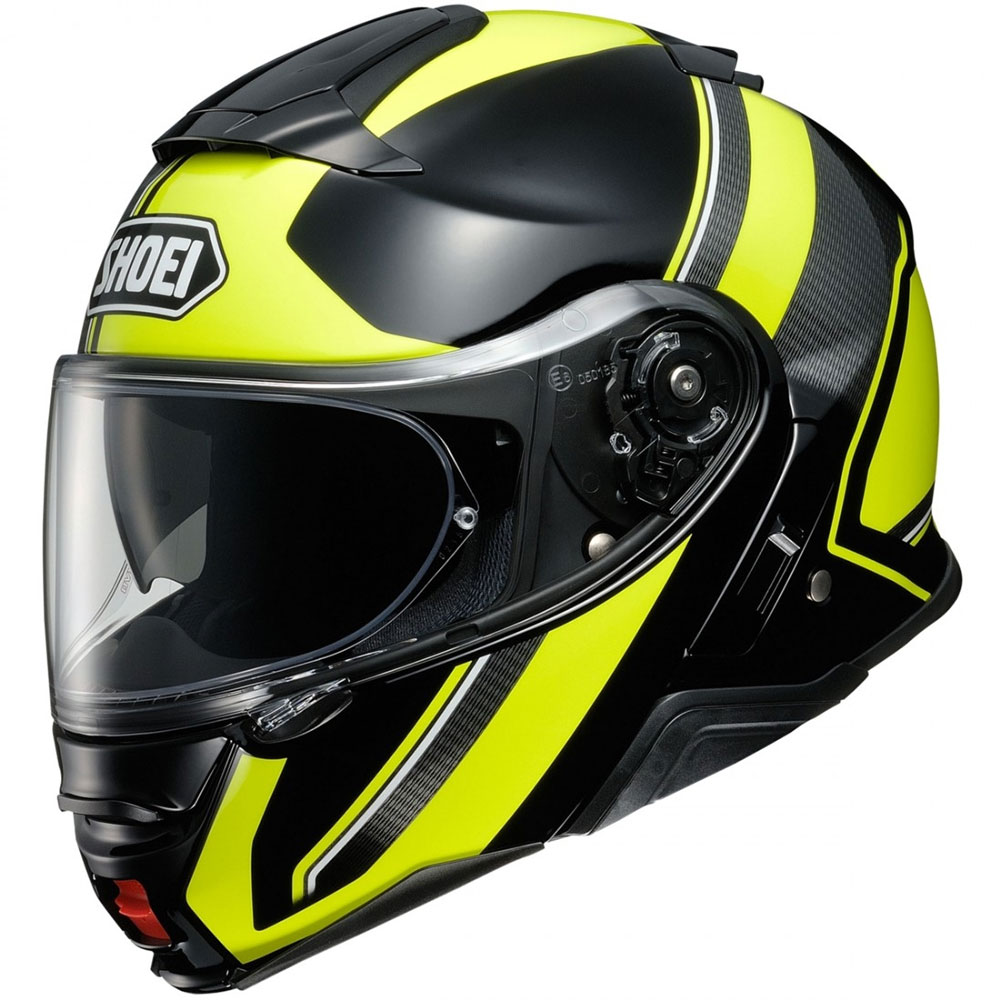 SHOEI NEOTEC II EXECUSION TC3 GIALLO