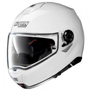 NOLAN N100.5 CLASSIC N-COM METAL WHITE