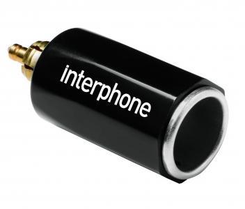 ADATTATORE A 12V CON CONNETTORE DIN ACCENDISIGARI INTERPHONE