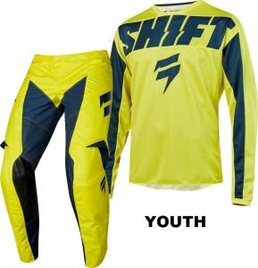 SHIFT YOUTH WHIT3 YORK YELLOW