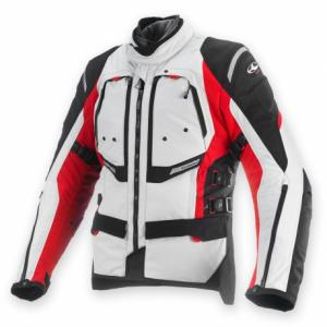 CLOVER GIACCA GTS-3 WP AIRBAG LADY RED-GREY