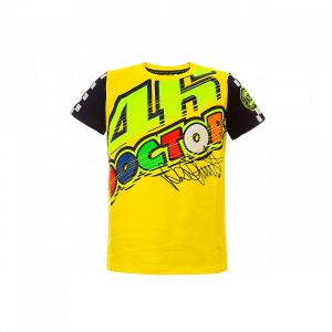 T-SHIRT VR46 YELLOW KID