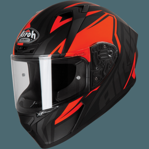 AIROH CASCO VALOR IMPACT ORANGE MATT VAI32