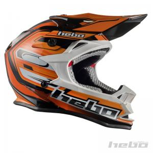 HEBO CASCO CROSS JUNIOR KONIK ORANGE