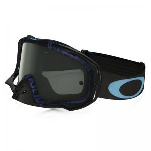 OAKLEY CROWBAR DISTRESS TAGLINE BLU -Lente Dark Grey