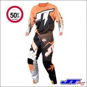 JT RACING USA Hyperlite Voltage Black Orange White