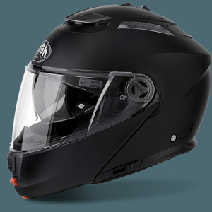 AIROH CASCO APRIBILE PHANTOM-S  BLACK MATT