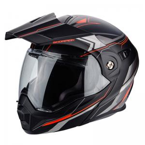 SCORPION ADX-1 ANIMA MATT BLACK-RED