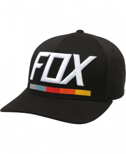 FOX CAPPELLINO DRAFTR FLEXFIT HAT BLACK
