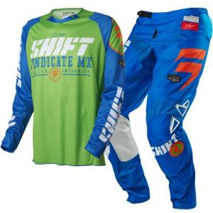 SHIFT COMPLETO CROSS MX 2016 STRIKE BLUE GREEN