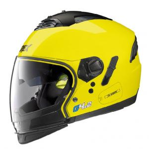 CASCO CROSSOVER GREX G4.2 PRO N-COM LED YELLOW