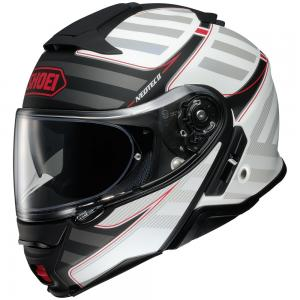 SHOEI NEOTEC II CASCO MODULARE SPLICER TC-6 MATT BLACK-WHITE