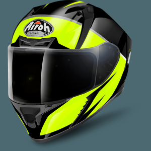 AIROH CASCO INTEGRALE VALOR ECLIPSE YELLOW GLOSS