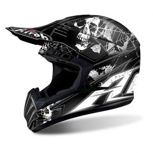 AIROH SWITCH CASCO CROSS SCARY BLACK MATT