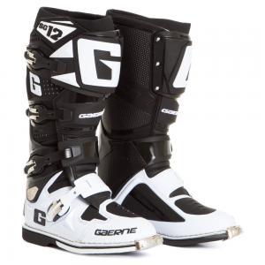 STIVALI GAERNE SG12 BLACK WHITE