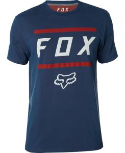 T-SHIRT FOX LISTLESS AIRLINE TEE  Navy/Red