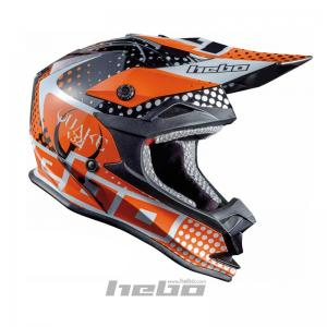 HEBO CASCO CROSS JUNIOR QUAKE