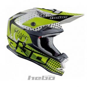 HEBO CASCO CROSS JUNIOR QUAKE YELLOW
