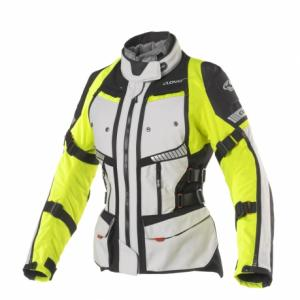 CLOVER GIACCA GTS-4 WP AIRBAG LADY GRIGIO GIALLO FLUO