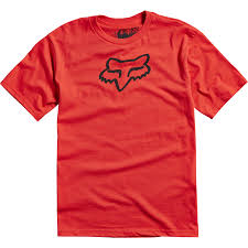 FOX T-SHIRT YOUTH LEGACY SS TEE RED