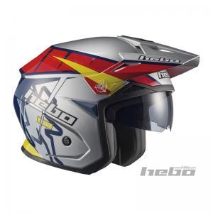 HEBO CASCO TRIAL ZONE 5 T-ONE