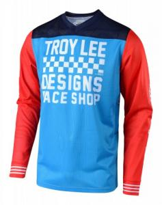 TROY LEE DESIGNS GP AIR JERSEY RACESHOP OCEAN