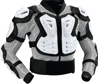 PROTEZIONI CROSS  FOX TITAN SPORT JACKET WHITE