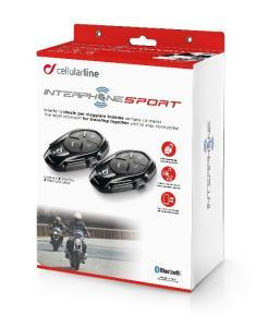 CELLULARLINE INTERFONO INTERPHONE SPORT DOPPIO