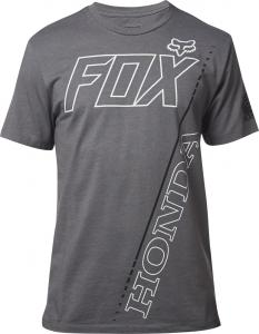 FOX CASUAL HONDA T-SHIRT PREMIUM TEE HTR GRAPH