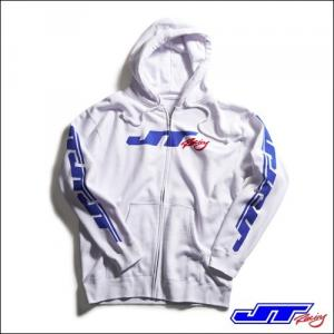 JT RACING USA FELPA HOODY ZIP UP REPEATER