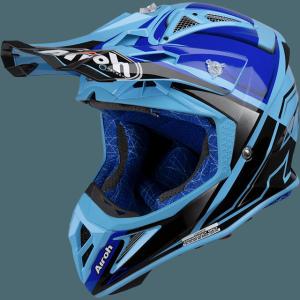 AIROH AVIATOR 2.2 CHECK BLUE GLOSS