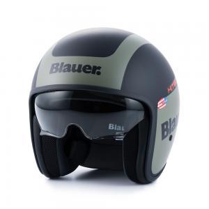 BLAUER HELMETS PILOT 1.1 MATT BLACK/GREEN