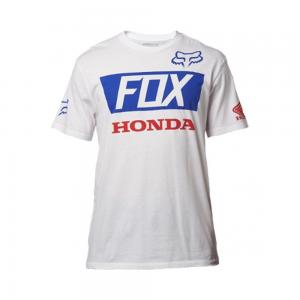FOX T-SHIRT HONDA HRC WHITE