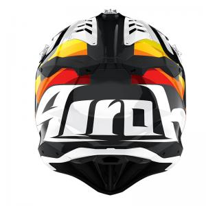 AIROH AVIATOR 3 RAINBOW WHITE GLOSS