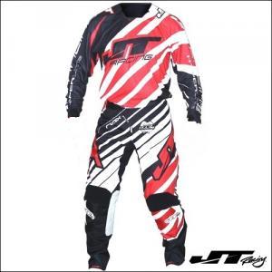 JT RACING USA MX HYPERLITE REMIX BLACK RED WHITE