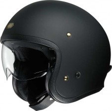 SHOEI JET J-O MATT BLACK