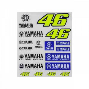 YAMAHA VR46 COLLECTION ADESIVI YAMAHA VR46 GRANDI