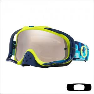 OAKLEY CROWBAR THERMO CAMO BLUE LIME - Lente Ice Iridium & Clear *