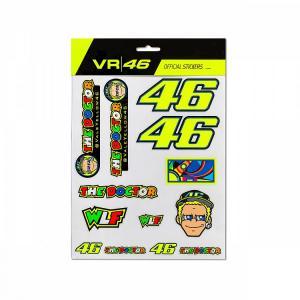 VR46 CLASSIC COLLECTION ADESIVI VR46 GRANDI