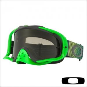 OAKLEY CROWBAR Shockwave Green Yellow - Lente Dark Grey