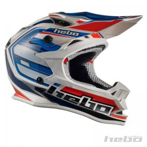 HEBO CASCO CROSS JUNIOR KONIK BLUE-RED