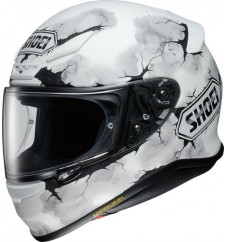 SHOEI NXR RUTS WHITE MATT