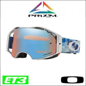 OAKLEY AIRBRAKE MX PRIZM TOMAC MILITARY DIGY BLUE SIGNATURE LENTE SAPPHIRE