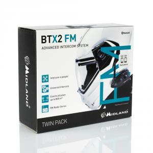 MIDLAND INTERFONO BTX2 FM DOPPIO