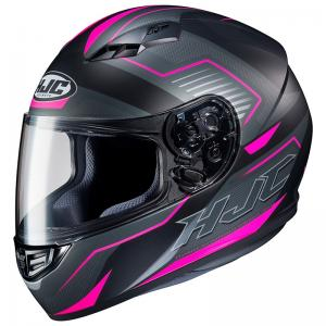 HJC CASCO INTEGRALE CS15 TRION MATT NERO/FUCSIA