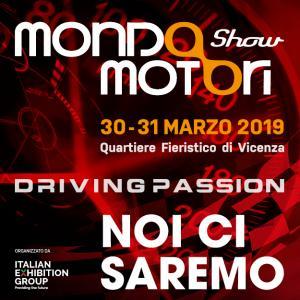 MONDO MOTORI SHOW 2019 VICENZA 30-31 MARZO